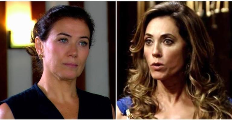 Tereza Cristina coloca fogo em Griselda na novela 'Fina Estampa'