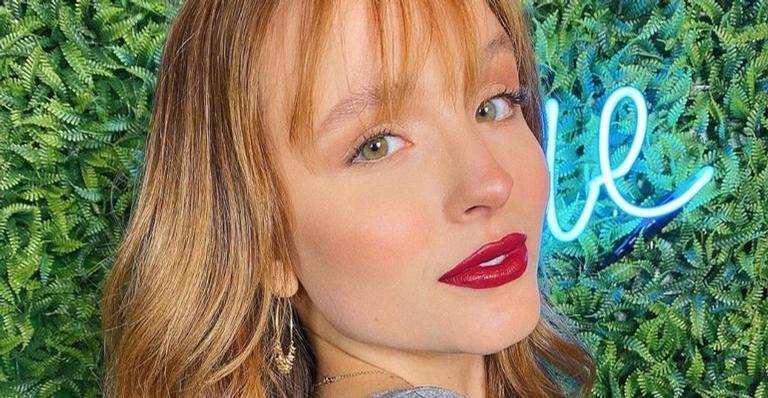 Divulgando o seu novo filtro, Larissa Manoela deixa os fãs babando com a sua beleza