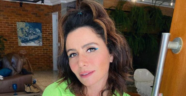 Giovanna Antonelli arranca suspiros ao posar para lindo clique matinal
