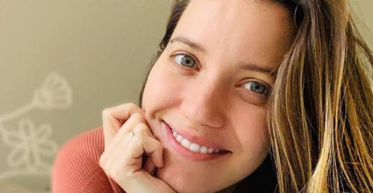 Nathalia Dill compartilha clique toda sorridente e exibe barriga de 6 meses: ''Grávida mais linda''