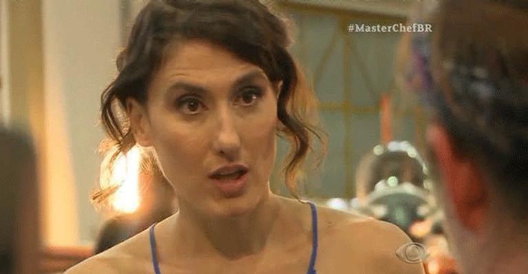 Paola Carosella rebate comentário nas redes sociais após ser chama de 'vagabunda'