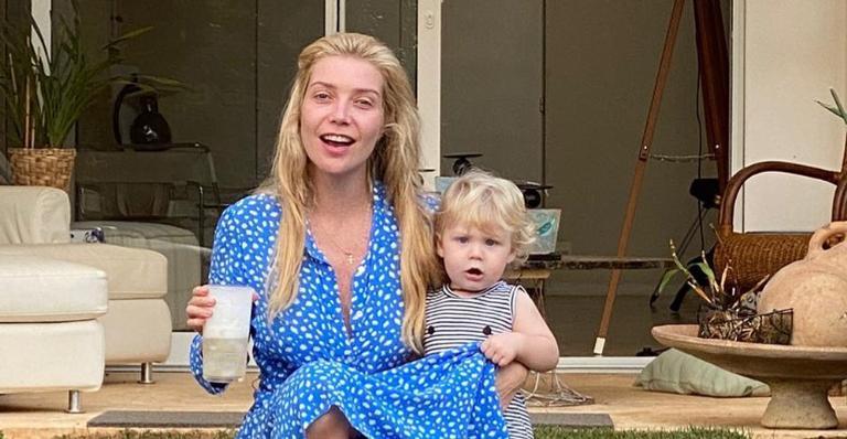 Luiza Possi se derrete pelo filho, Lucca, e encanta web: ''Meu grude''