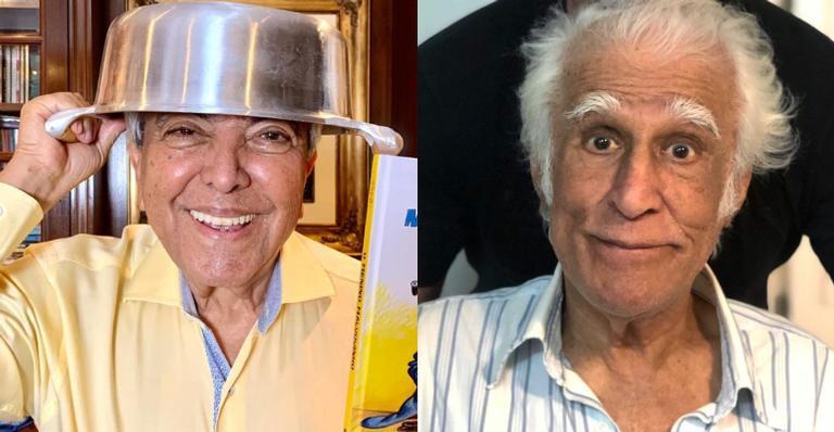 Maurício de Souza encanta internautas ao mostrar presente que recebeu de Ziraldo