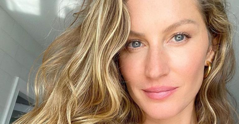 Gisele Bündchen posa sorridente em meio à natureza: ''Plantar novas intenções''