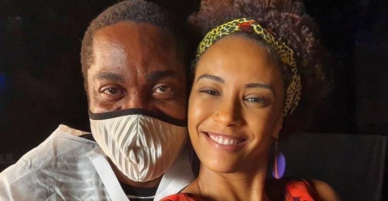 Taís Araujo encanta internautas ao prestar bela homenagem ao seu marido Lázaro Ramos