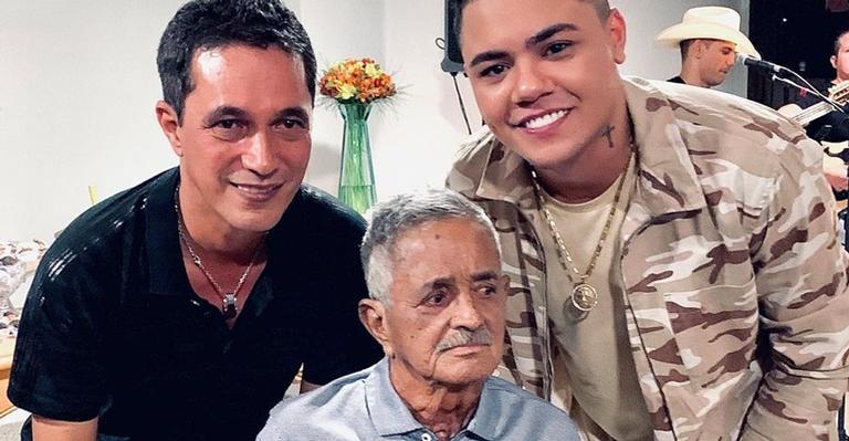 Felipe Araújo lamenta morte de Francisco Camargo: ''Sempre será exemplo de esperança''