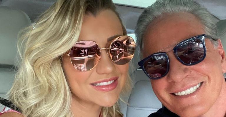 Roberto Justus e Ana Paula Siebert se declaram nas redes sociais