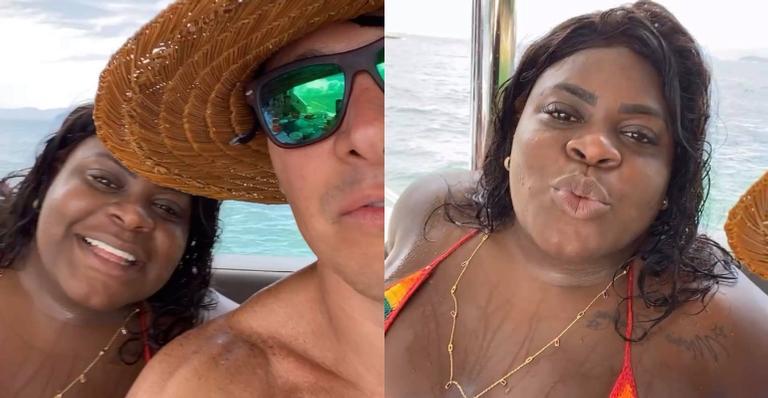 Rodrigo Faro faz passeio de barco com Jojo Todynho e Vera Viel