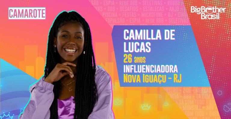 Após viralizar nas redes sociais com vídeos divertidos, Camilla de Lucas é confirmada no 'BBB21'