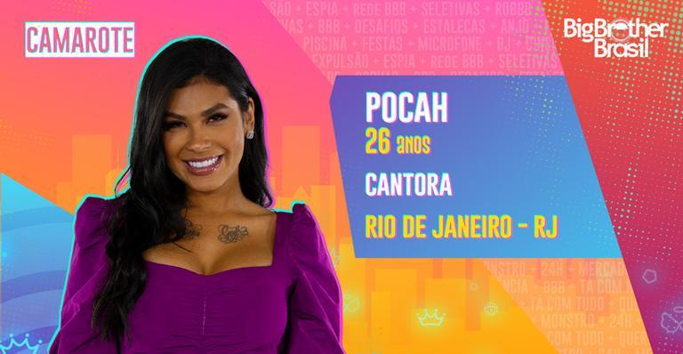 BBB 21: Cantora Pocah é confirmada no grupo do Camarote
