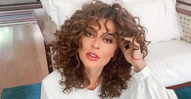 Juliana Paes esbanja beleza em look branco colado: ''Maravilhosa''