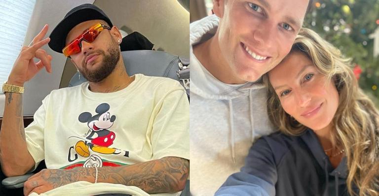 Neymar Jr. homenageia Tom Brady, marido de Gisele Bündchen: ''Lenda''