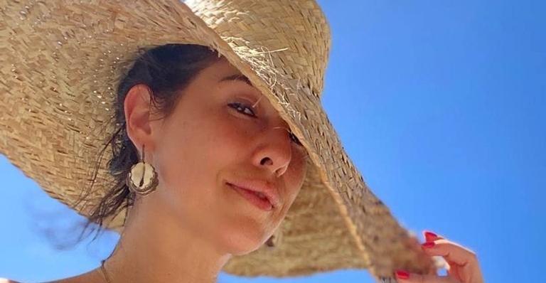 Fernanda Paes Leme relembra fantasia deslumbrante de Carnaval