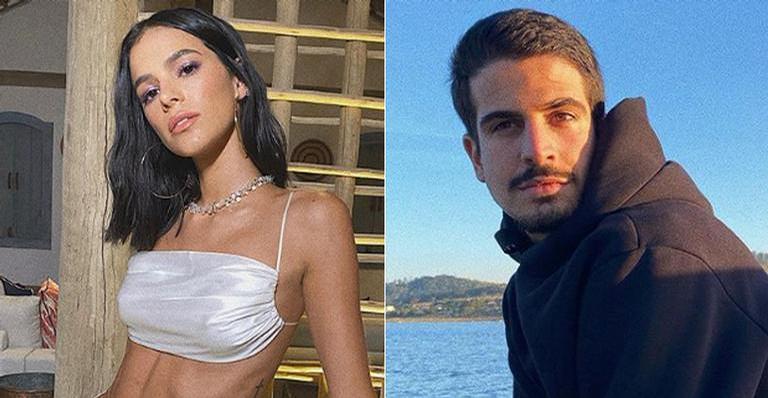 Após rumores de romance, Bruna Marquezine compartilha post de Enzo