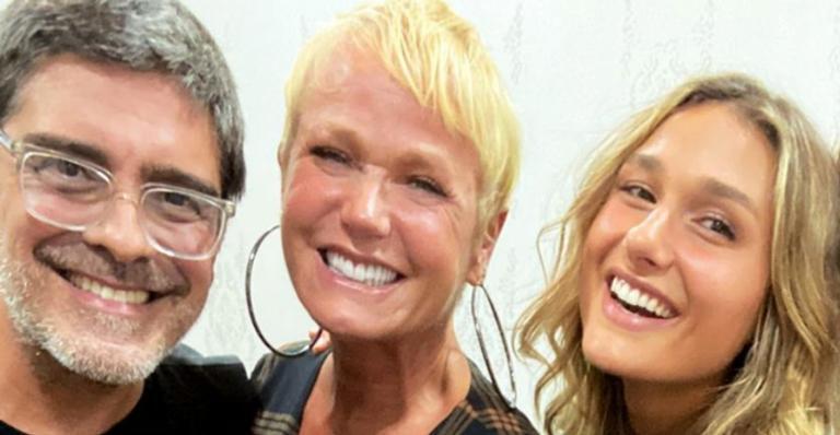 Sasha Meneghel publica clique cheio de amor entre Xuxa e Junno Andrade