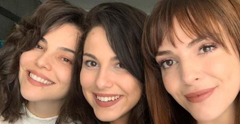 Tainá Muller relembra momento de carinho com as irmãs, Titi Muller e Tuti Muller
