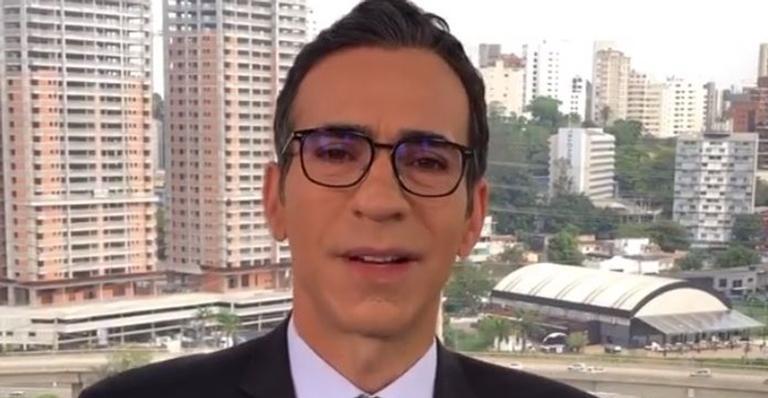 Após recorde de mortes por Covid-19, Cesar Tralli se solidariza com famílias das vítimas