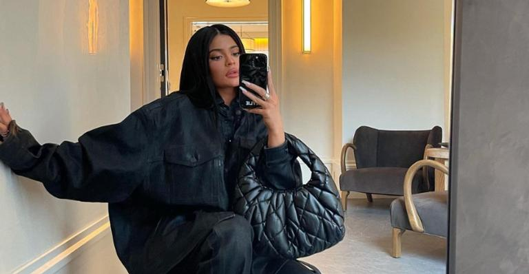 Kylie Jenner celebra Páscoa com a família e encanta web