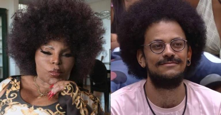 Após expor comentário racista de Rodolffo no BBB21, João Luiz recebe apoio de Elza Soares nas redes sociais