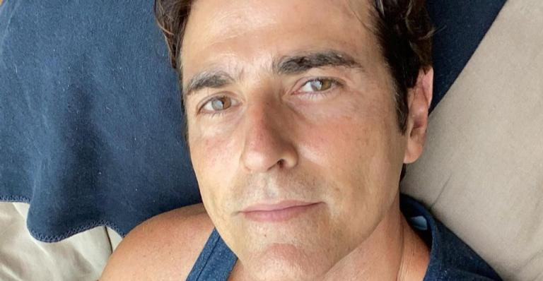 Reynaldo Gianecchini exibe seu mais novo corte de cabelo nas redes sociais