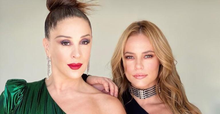 Claudia Raia parabeniza Paolla Oliveira lembrando cena de 'Belíssima': ''Mamá te ama muito''