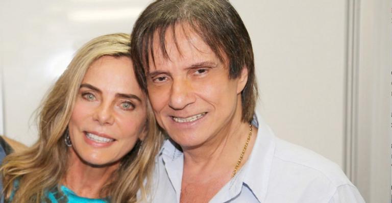 Bruna Lombardi celebra aniversário de 80 anos do Roberto Carlos