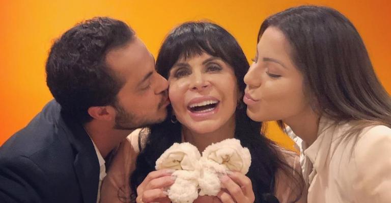 Thammy Miranda se declara para Gretchen e Andressa Ferreira no Dia das Mães: ''Meu porto seguro''