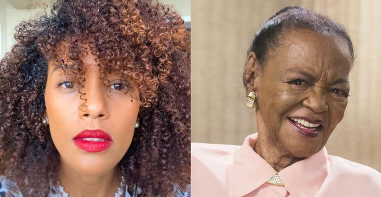 Taís Araújo falou da grande importância de Ruth De Souza para as atrizes negras brasileiras