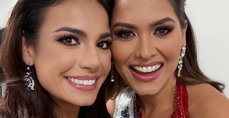 Julia Gama parabeniza vencedora do Miss Universo 2021: ''Me sinto representada''