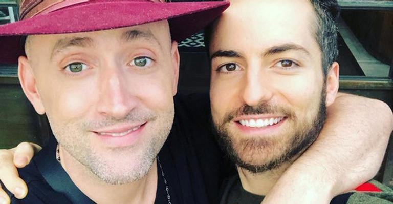 Thales Bretas se declarou para o marido Paulo Gustavo na web