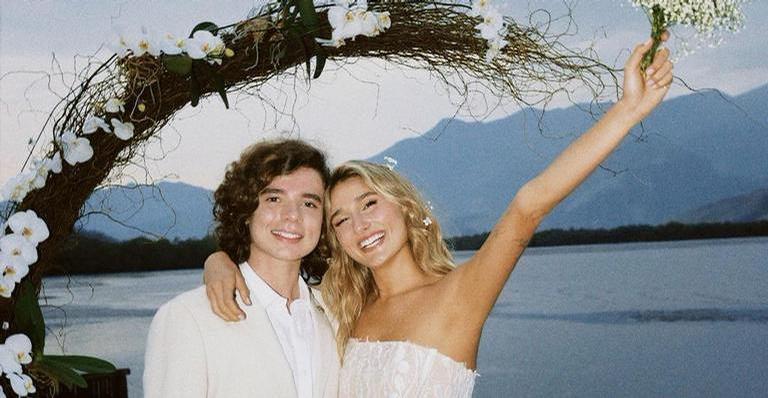 Sasha Meneghel encanta ao mostrar momentos especiais de seu casamento