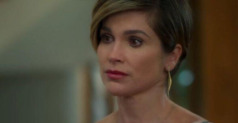 Helena se surpreende após Téo reagir na novela 'Salve-se Quem Puder'
