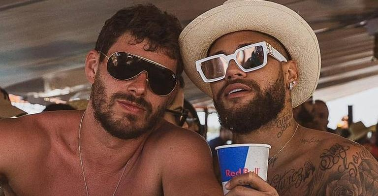 Neymar Jr. comemora aniversário de Bruninho Rezende: ''Te amo''