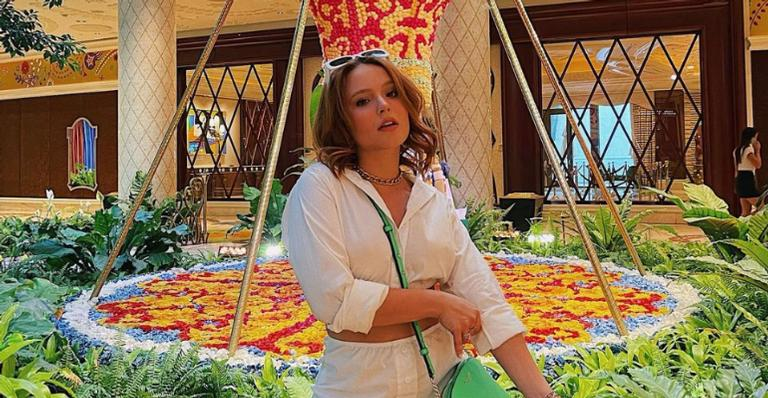 Em Las Vegas, Larissa Manoela aproveita para curtir show de Justin Bieber
