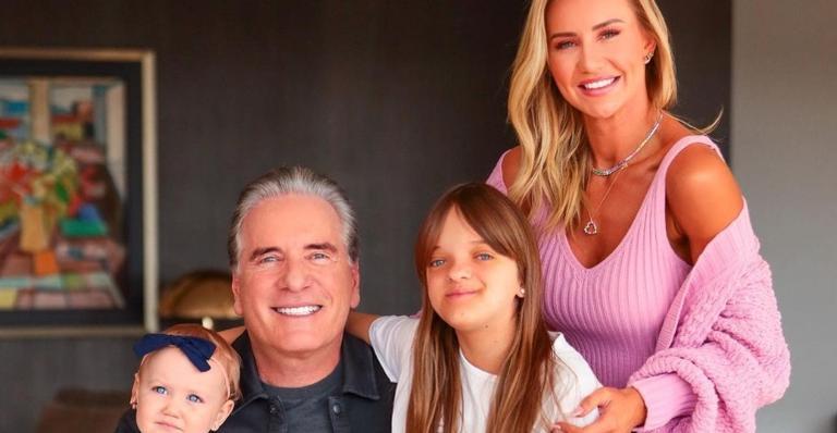 Rafaella Justus acorda com surpresa do pai, Roberto Justus, e da madrasta, Ana Paula Siebert