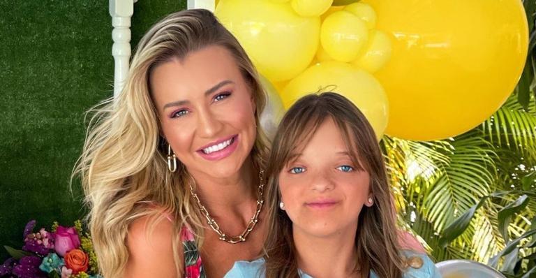 Rafaella Justus completa 12 anos e ganha homenagem da madrasta, Ana Paula Siebert