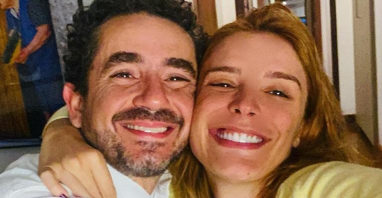 Rafa Brites presta homenagem para Felipe Andreoli pela cobertura da Olimpíada