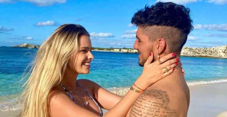 Yasmin Brunet demonstra apoio ao marido, Gabriel Medina: ''Queria muito estar aí!''