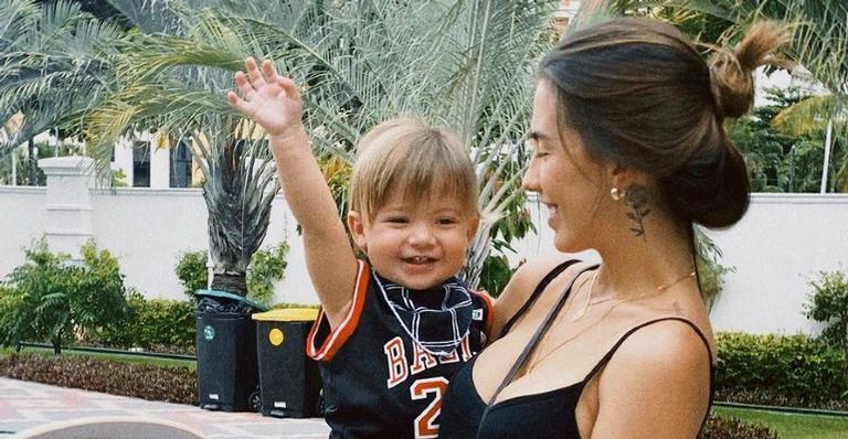 Gabi Brandt publica vídeo do novo visual de seu primogênito e encanta a web