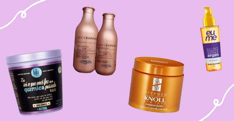 Pós química: 6 produtos para cuidar do cabelo