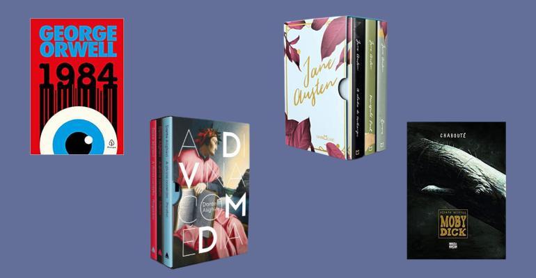 Book Friday: 10 clássicos da literatura para garantir