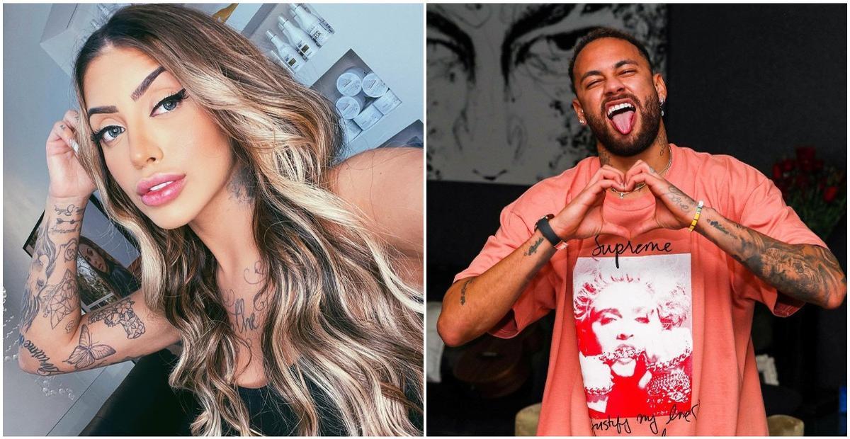 Mc Mirella e Neymar Jr. já ficaram: ''Era um segredo''