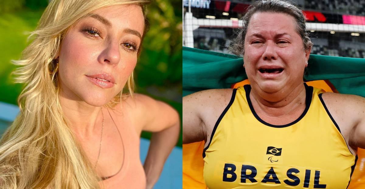 Paolla Oliveira parabeniza Beth Gomes após medalha nos Jogos Paralímpicos: ''Mulher maravilhosa''