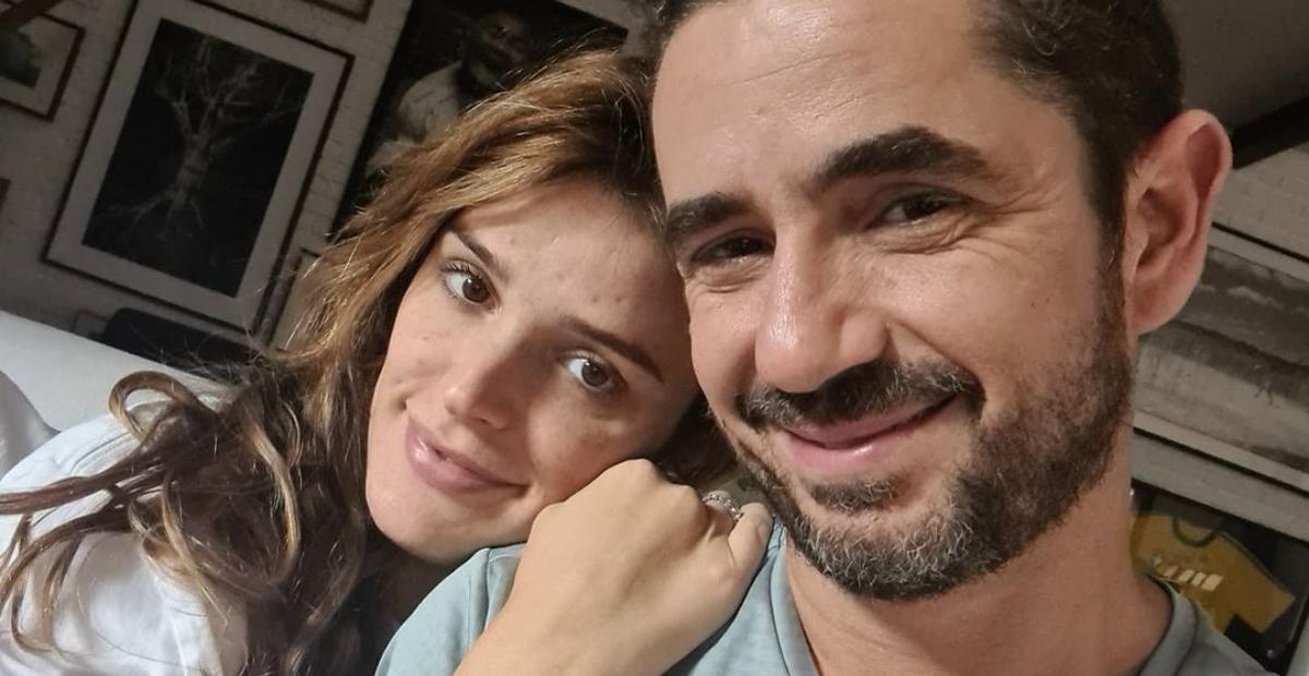 Felipe Andreoli tranquiliza fãs após Rafa Brites relatar acidente doméstico