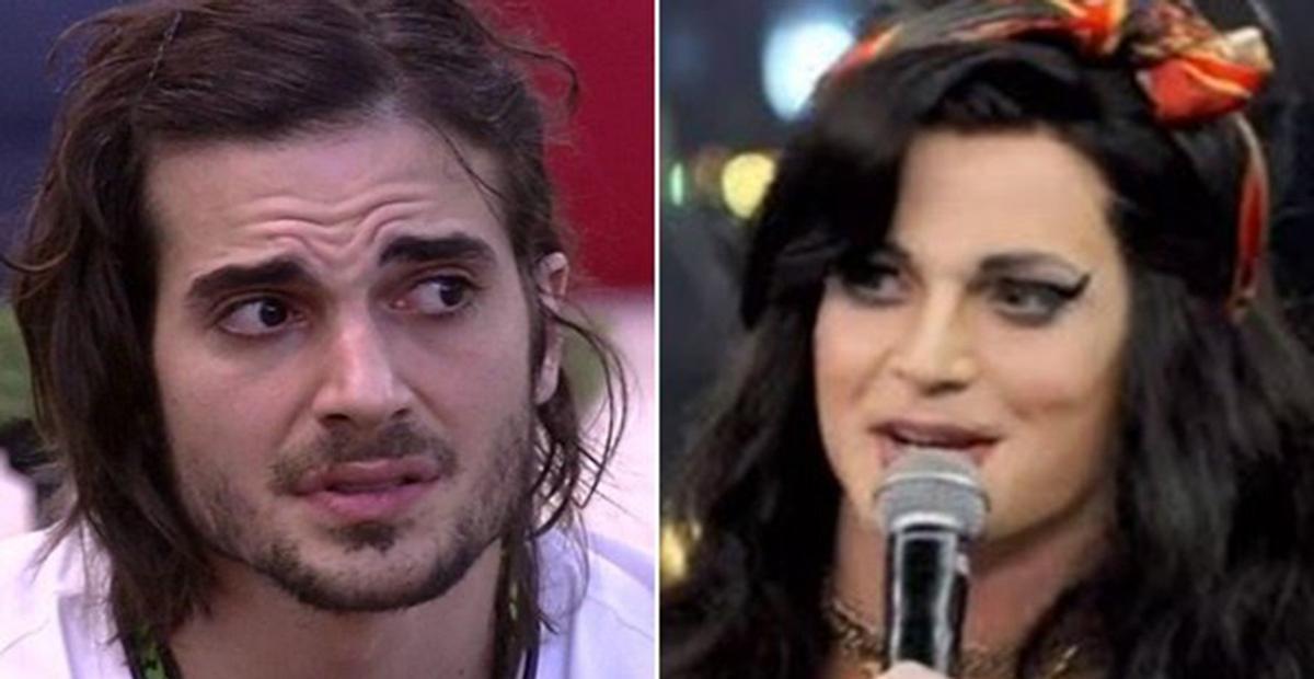 Fiuk desabafa após encarnar Amy Winehouse no 'Show dos Famosos'