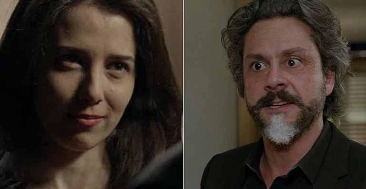 Cora descobre segredo do comendador José Alfredo e surta na novela 'Império'