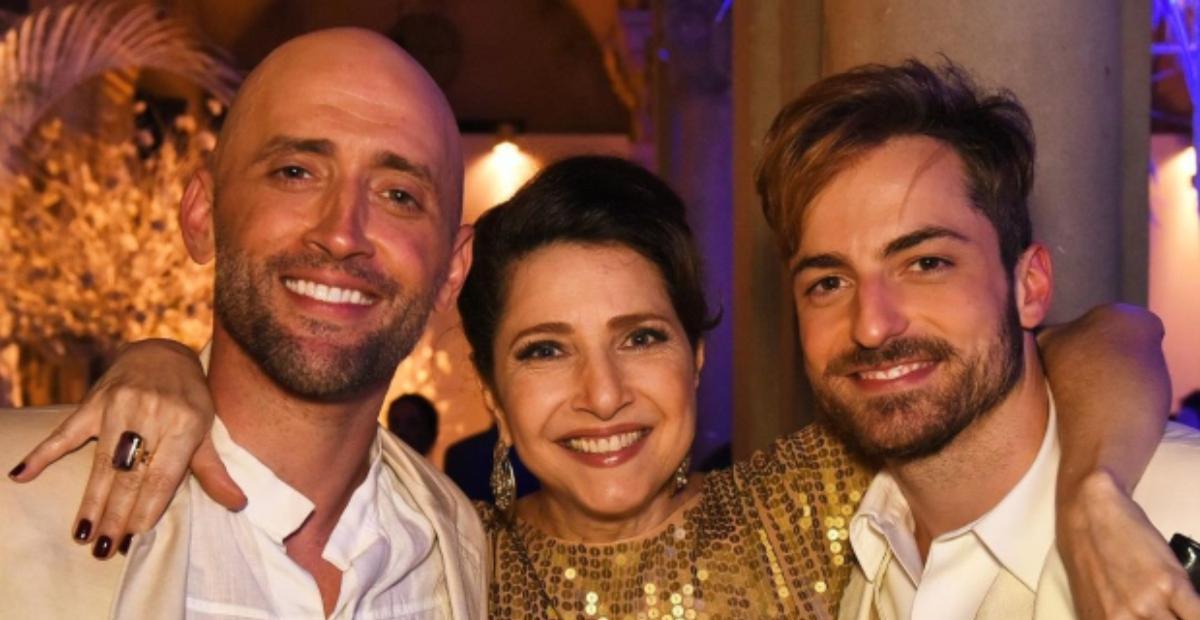 Dermatologista Thales Bretas celebrou o aniversário de Malu Valle com foto antiga de seu casamento ao lado de Paulo Gustavo