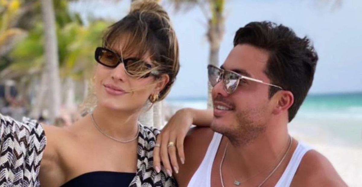 No México, Thyane Dantas exibe detalhes de look deslumbrante para show de Wesley Safadão