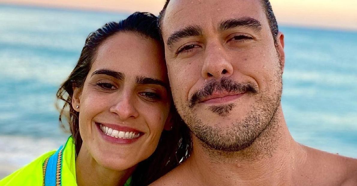 Com clique romântico, Joaquim Lopes fala sobre Marcella Fogaça: ''Amor que liberta''